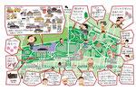 小金井公園イラストマップ