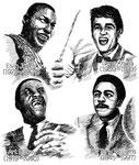 音楽 ミュージシャン jazz ジーン・クルーパ アート・ブレイキー エルビン・ジョーンズ トニー・ウィリアムス