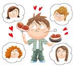 恋愛 カップル 肉食系