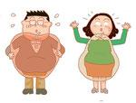 リンゴ型肥満 ナシ型肥満