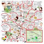 谷保イラストマップ