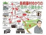 信州小諸島崎藤村ウォーキングマップ