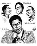 音楽 ミュージシャン jazz ルイ・アームストロング ベッシー・スミス マイルスデイビス B.B.キング