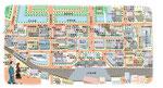丸の内オフィス街イラストマップ