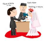 恋愛 カップル 結婚式