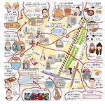 渋谷イラストマップ