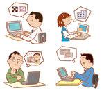会社 オフィス 仕事 パソコン