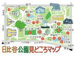 日比谷公園見どころマップ