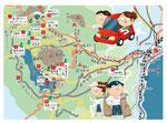 箱根ゴルフドライブマップ