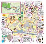 用賀イラストマップ