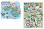 ビンタン島 サホロイラストマップ