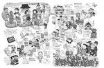 巣鴨地蔵通り商店街イラストマップ