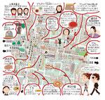 表参道イラストマップ