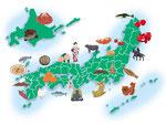 全国観光名産マップ
