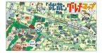 江古田イラストマップ