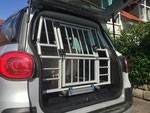 Box mit ausziehbarer Rampe Fiat 500L