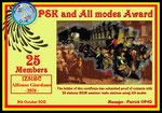 PSK and All Modes Award 25 Members