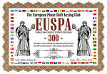 Worked 300 European Stations PSK Award