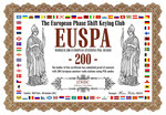 Worked 200 European Stations PSK Award
