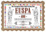 Worked 400 European Stations PSK Award