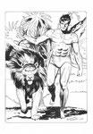 Tarzan. Illustrazione.