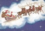 Babbo Natale.Illustrazione.