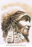 Alce Nero dei Sioux Oglala.