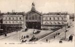 La première gare d'Amiens inaugurée le 20 juin 1846. (Coll. JPL)