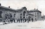 La première gare de Tergnier