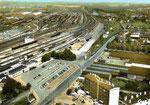 La gare de Tergnier dans les années 60. (Coll. MB)