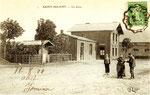 La gare de St Hilaire côté cour. (Coll. part.)
