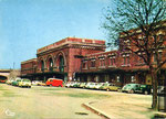 La gare actuelle construite en 1926. (Coll. MB)