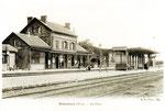 La gare de Solesmes. (Coll. MB)