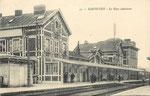 La gare définitive de Maubeuge inaugurée en 1863. (Coll. part.)