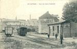 Le Cateau - La gare du Cambrésis. (Coll. part.)