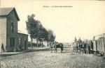 La gare d'Inchy côté voies. (Coll. part.)
