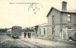 La gare de Quiévy, côté voies. (Coll. part.)