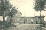 La gare de Quiévy, côté cour. (Coll part.)