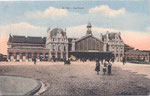 La gare  d'Arras construite en 1898. Elle sera détruite en 1915, reconstruite puis à nouveau détruite en 1942. (Coll. part.)