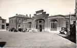 La gare d'Aulnoye-Aymeries. (Coll. MB)