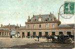 La première gare de Douai inaugurée le 1er avril 1846 (Cie du Nord). Elle fut détruite durant la seconde guerre. (Coll. MB)