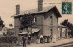 La gare de St Hilaire côté quais. (Coll. part.)