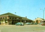 La gare actuelle reconstruite après la seconde Guerre. (Coll. MB)