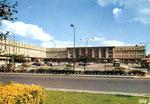 La gare conçue par Auguste Perret et mise en service en 1958. (Coll. MB)