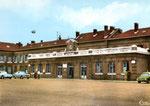La gare d'Hirson a été mise en service en 1869. (Coll. MB)