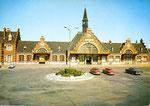 Vue plus récente de la gare d'Albert (Coll. MB)