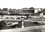 La nouvelle gare construite dans les années 50. (Coll. MB)