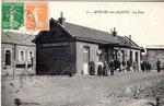 La gare d'Avesnes les Aubert. (Coll. JPL)