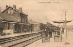 La gare côtés quais (Coll. part.)