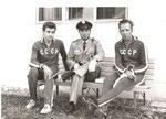 В олимпийской деревне с сержантом японской армии, который был охранником и шофёром у нашей сборной. Токио. 1964 год